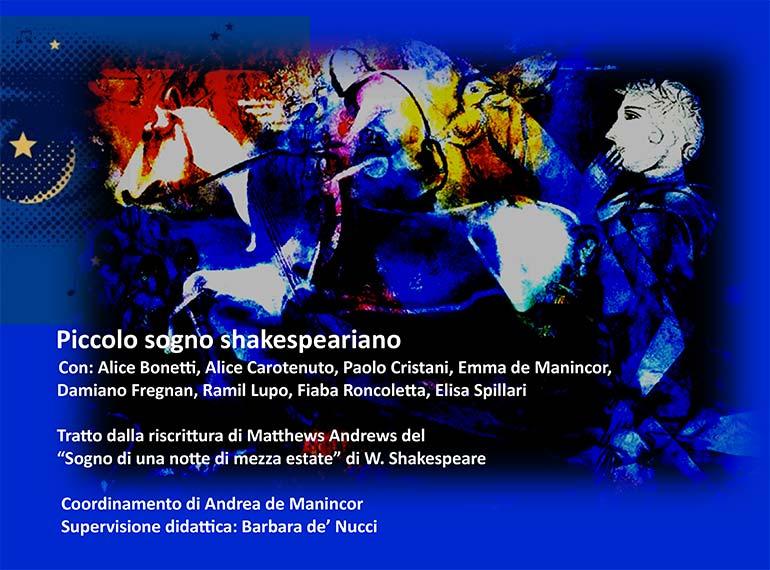 de-Ze-de - Piccolo Sogno Shakespeariano Locandina